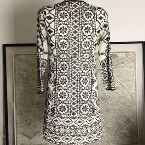 Antik Batik Dresses - New Antik Batik Short Dress in Ivory Embroidered